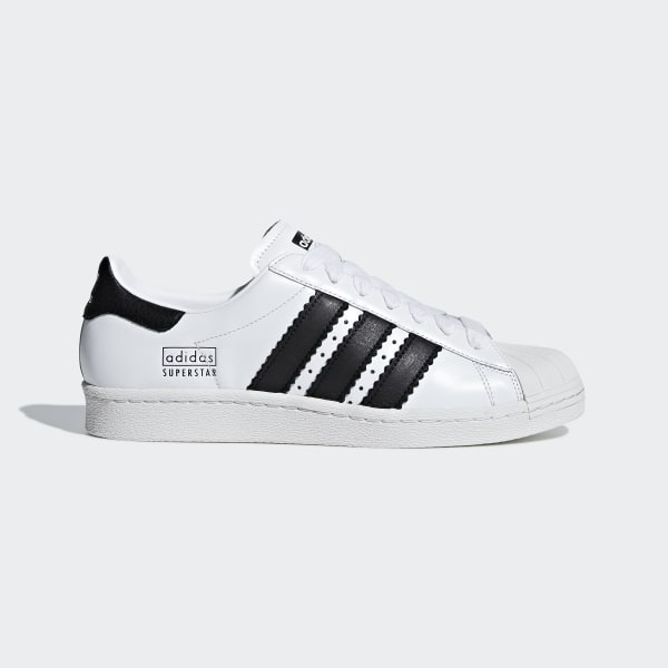 997162fd41f Chaussure Superstar 80s Ftwr White   Core Black   Crystal White CG6496
