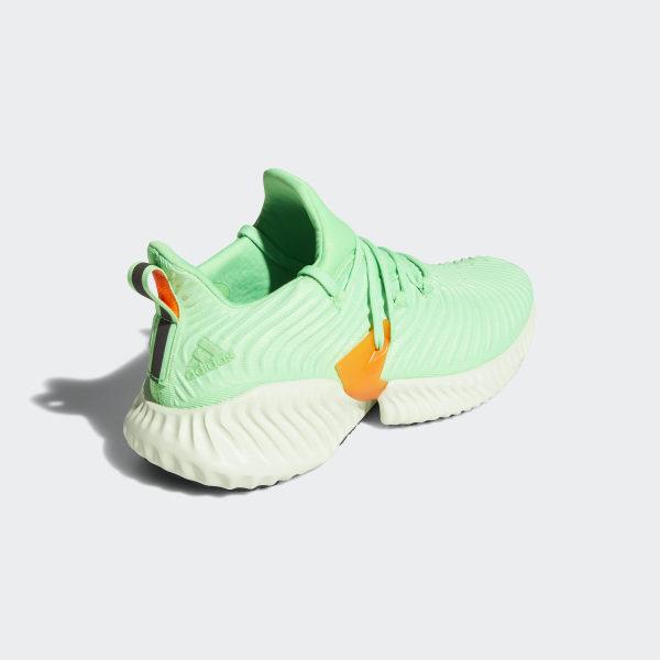 d0c28c53f2c4e Alphabounce Instinct Shoes Shock Lime   Aero Green   Hi-Res Orange CG5515