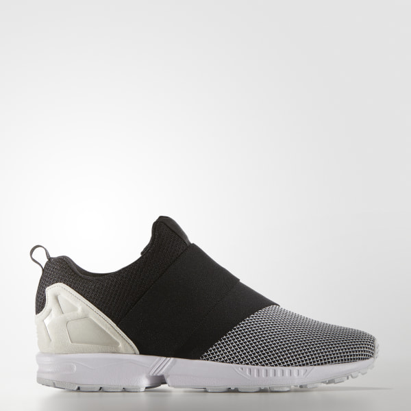 buy online 5247a 424da Zapatillas Originals ZX Flux Slip On WHITE   CORE BLACK   OFF WHITE AF6338