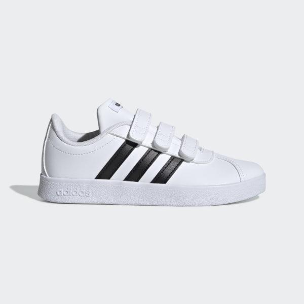 750d79107a9 VL Court 2.0 Shoes Ftwr White   Core Black   Ftwr White DB1837