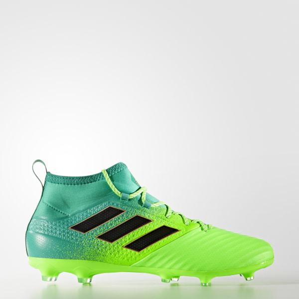 Zapatillas de Fútbol ACE 17.2 Primemesh Terreno Firme SOLAR GREEN CORE  BLACK CORE GREEN 9e04eda719db7