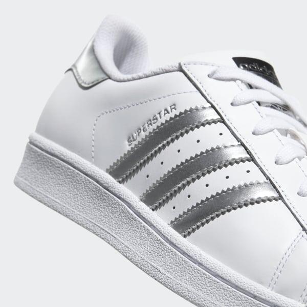 super popular 54090 ebdbe Scarpe Superstar Footwear White   Silver Metallic   Core Black AQ3091