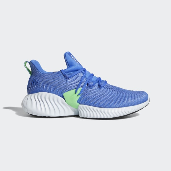 1e69e7f30f1a68 Alphabounce Instinct Shoes Hi-Res Blue   Aero Blue   Shock Lime CG5516