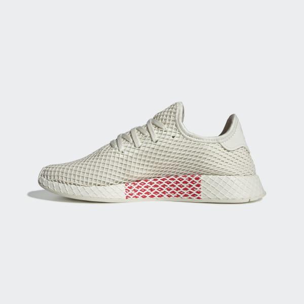 c91a79825 Deerupt Runner Shoes Off White   Ftwr White   Shock Red BD7882