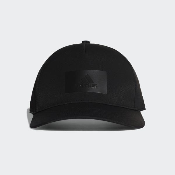 30df6c0de4157 adidas Z.N.E. Logo Cap S16 Black   Black   Black CY6049