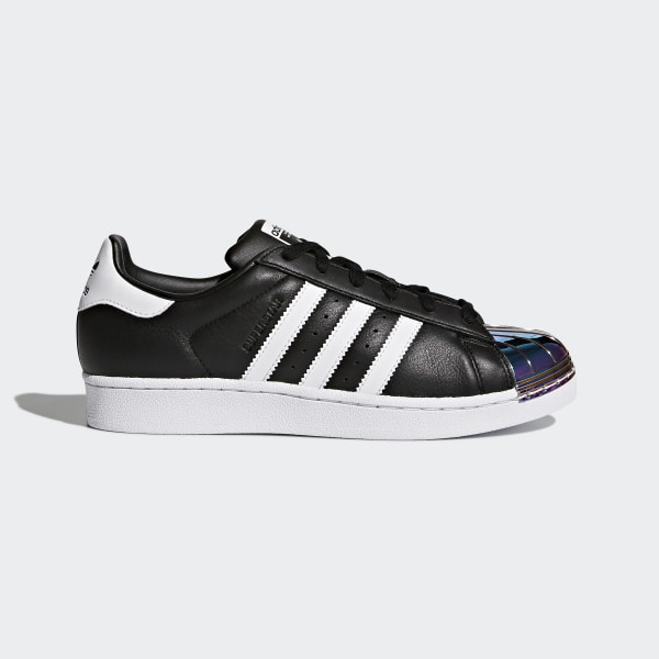 3065f930ae8 adidas Superstar Metal Toe Shoes - Black