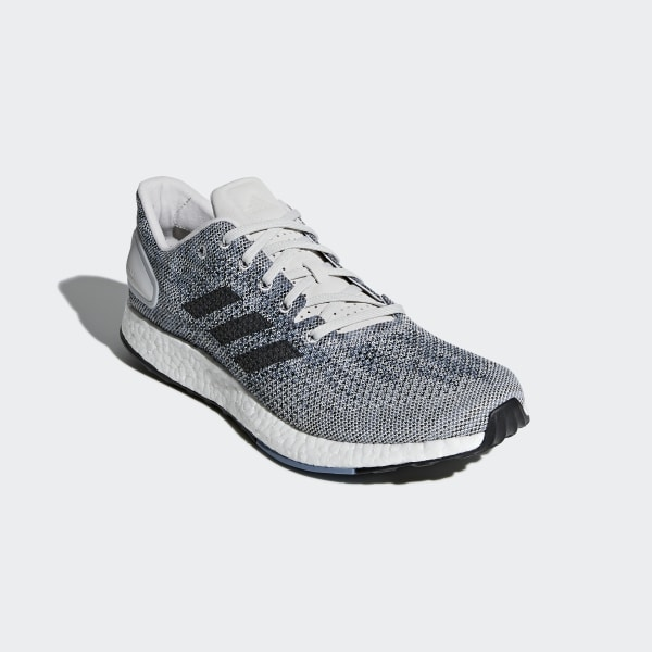 6874b2007cd18 Pureboost DPR Shoes Grey One   Cloud White   Raw Grey CM8322