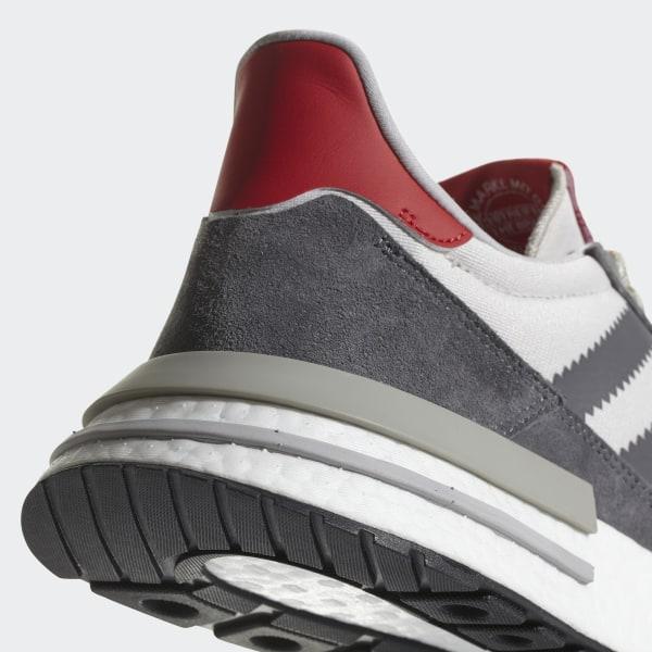 official photos 52cea bd7d0 ZX 500 RM Shoes Grey Four   Cloud White   Scarlet B42204