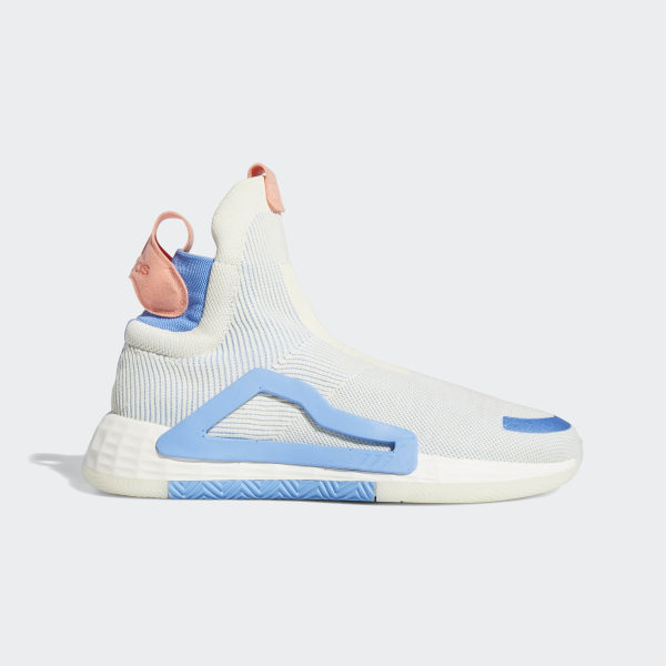 N3xt L3v3l Shoes Cream White / Cloud White / Bahia Light Blue F36282