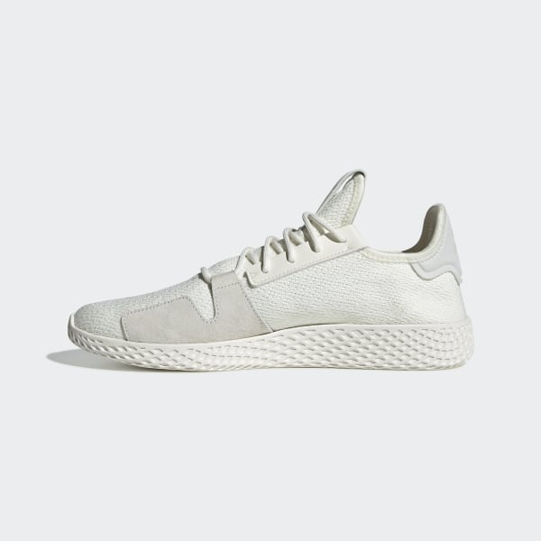 cea8a035fda01 Pharrell Williams Tennis Hu V2 Shoes Off White   Off White   Core Black  DB3327