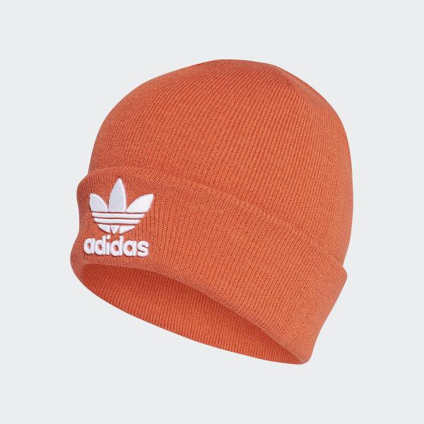 f404f6ef4 adidas Trefoil Beanie - Orange | adidas Finland
