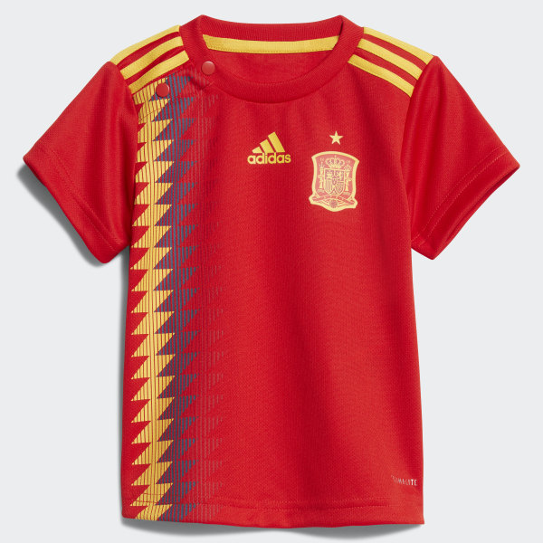 5f2f224956f4 Spain Home Infant Kit Red   Bold Gold BR2705