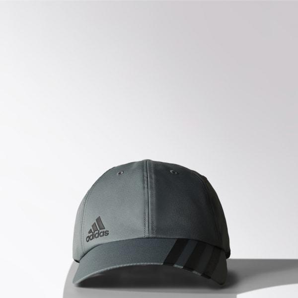 Gorra adidas ClimaLite Tres Rayas VISTA GREY S15 BLACK BLACK S21728 8a3c01548ff