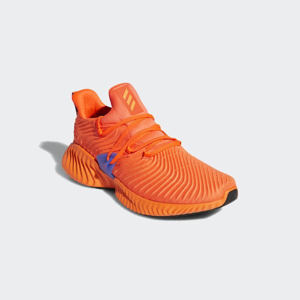 release date: 756e5 34c57 Alphabounce Instinct Shoes Solar Red  Hi-Res Orange  Hi-Res Blue BB7507