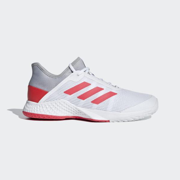 size 40 9f757 272c4 Adizero Club Schuh Light Granite  Shock Red  Ftwr White CG6344