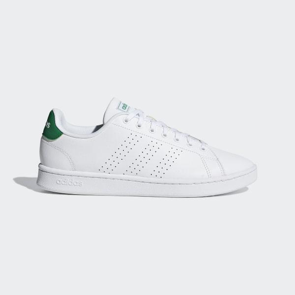 huge discount cc4ad f0d3b Advantage Shoes Cloud White   Cloud White   Green F36424