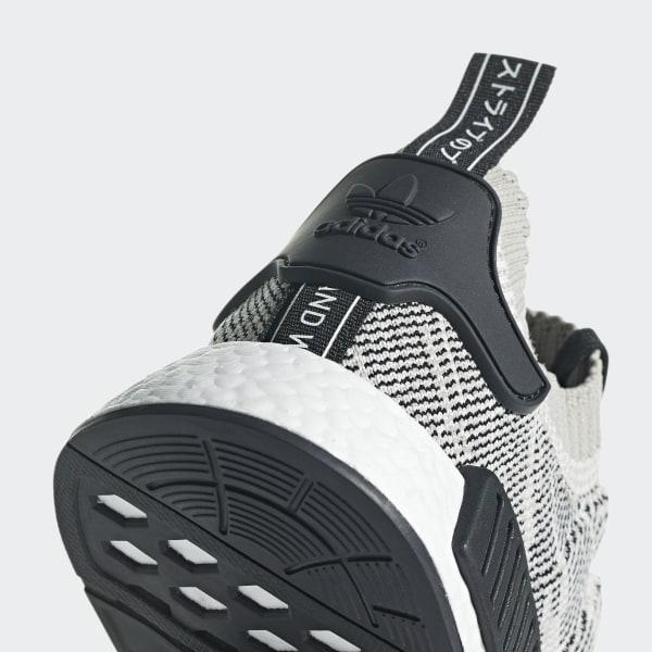 59f3553c3e44c NMD R1 Primeknit Shoes Sesame   Sesame   Off White AQ0899