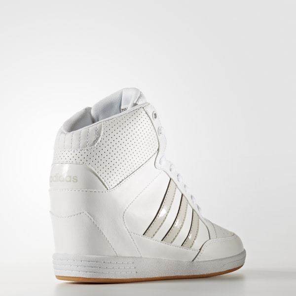 2b3ee0e2fa0 Super Wedge Shoes Cloud White   Cloud White   Pearl Grey AW3968