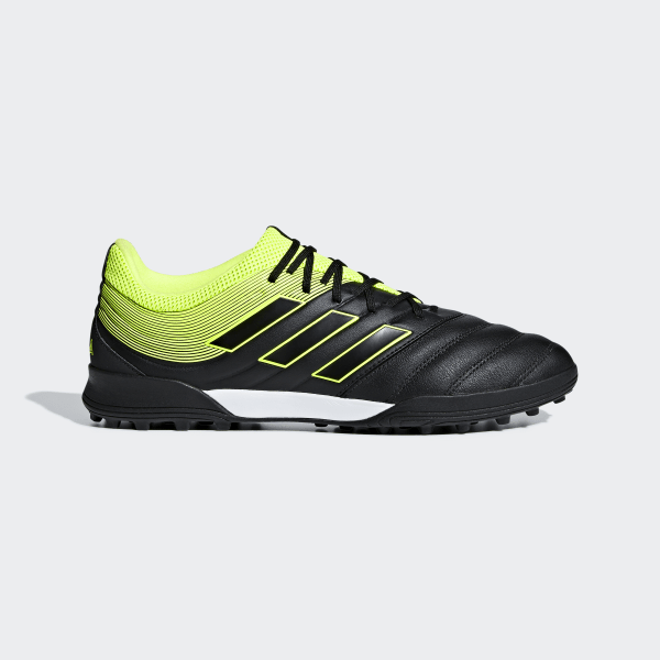 606b9dba243e8a Copa 19.3 Turf Shoes Core Black   Solar Yellow   Core Black BB8094