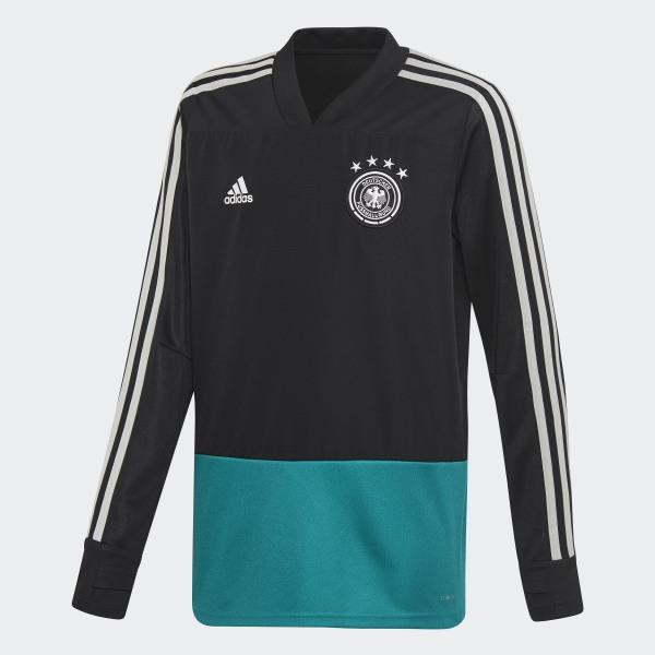 585486c00d048 Camiseta entrenamiento Alemania Black   Eqt Green   Grey Two CE6624