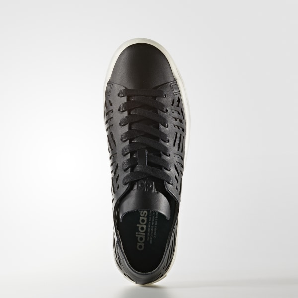 newest d392b 1aeb7 Court Vantage Cutout Shoes Core BlackCore BlackOff White BY2956