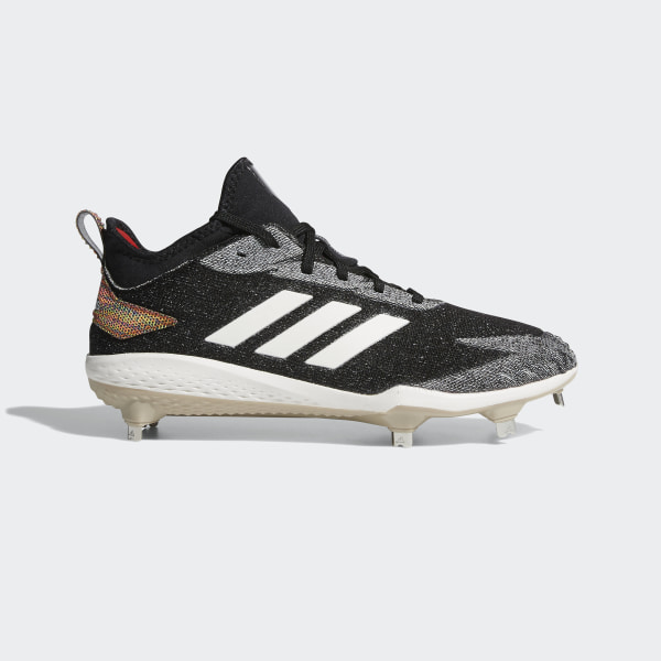 7a7e715133b Adizero Afterburner V Fusion Cleats Core Black   Running White   Hi-Res Red  DA9419