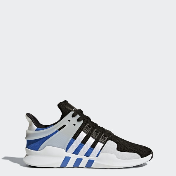 9dfbfeb07a0 Tênis Eqt Support Adv CORE BLACK FTWR WHITE CLEAR GREY S12 BY9583