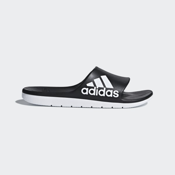 69c69a730b69 adidas Aqualette Cloudfoam Slides - Black