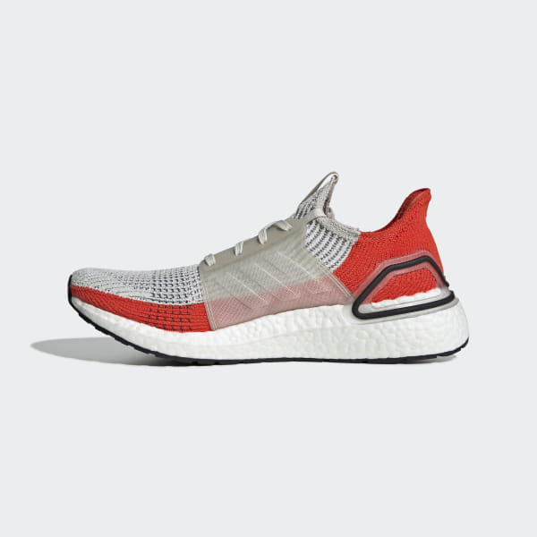 62367cd50 Ultraboost 19 Shoes Raw White   Cloud White   Active Orange F35245
