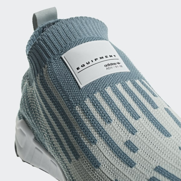cheaper 36a5f 100ea EQT Support Sock Primeknit Shoes Raw Green  Ash Silver  Core Black B37525