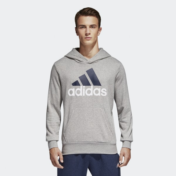 4e751a509846e Felpa con cappuccio Essentials Linear Pullover Medium Grey Heather S98775