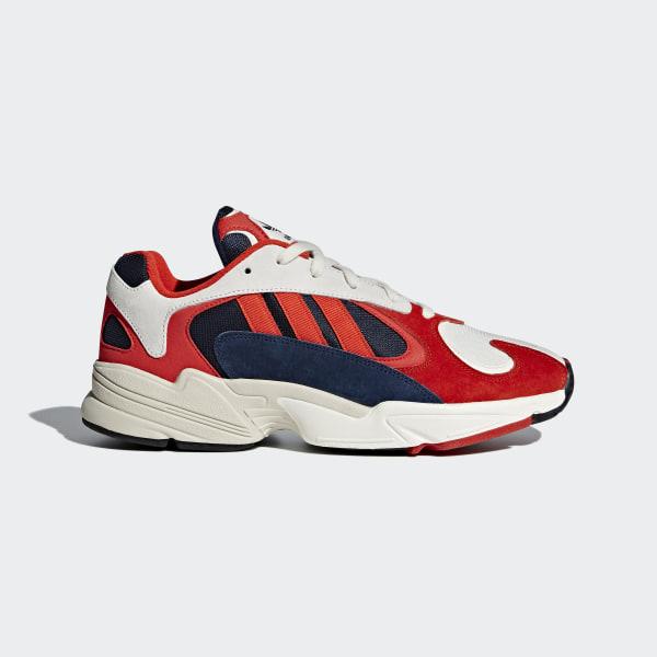 43dd87385a50 Yung 1 Shoes Orange   Core Black   Collegiate Navy B37615