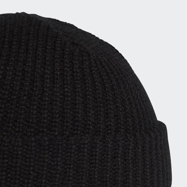 adidas Trefoil Fisherman Beanie - Black  31c307d721c