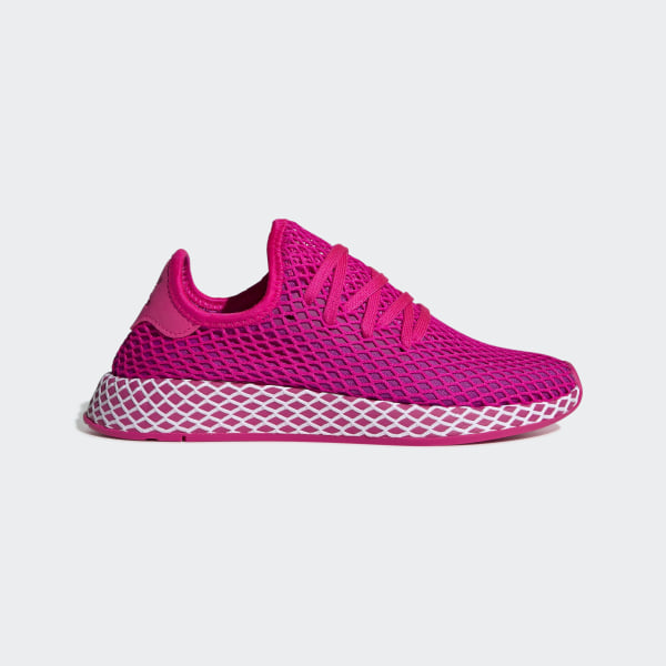 61550d128 Deerupt Runner Shoes Shock Pink   Vivid Pink   Cloud White CG6090