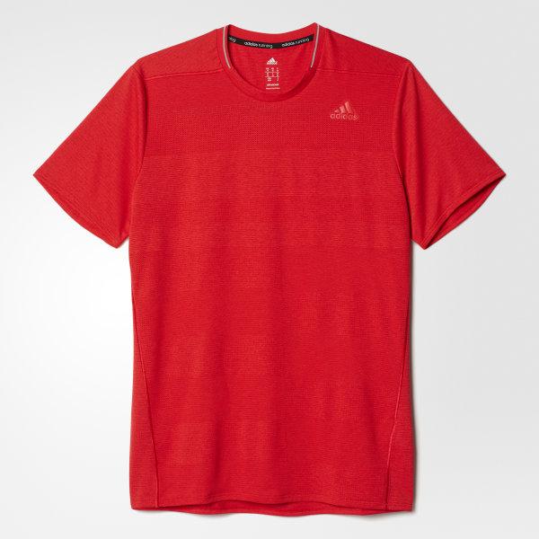 adidas Playera para Correr Supernova - Rojo  a5f9e0c2cb607