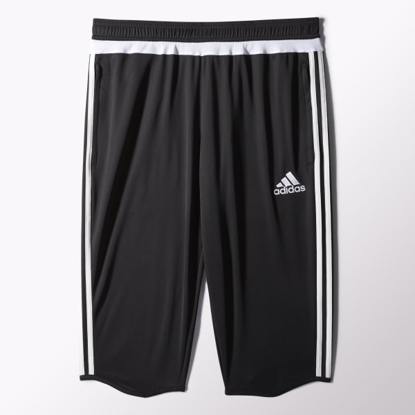 Pantalón de tres cuartos Tiro 15 BLACK WHITE BLACK M64027 e903dbb1cd567