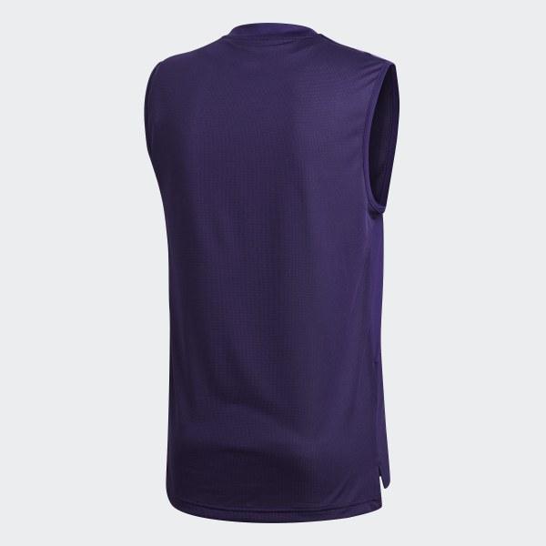 69e6233fa adidas Camiseta de Entrenamiento Club Atlético River Plate - Violeta ...