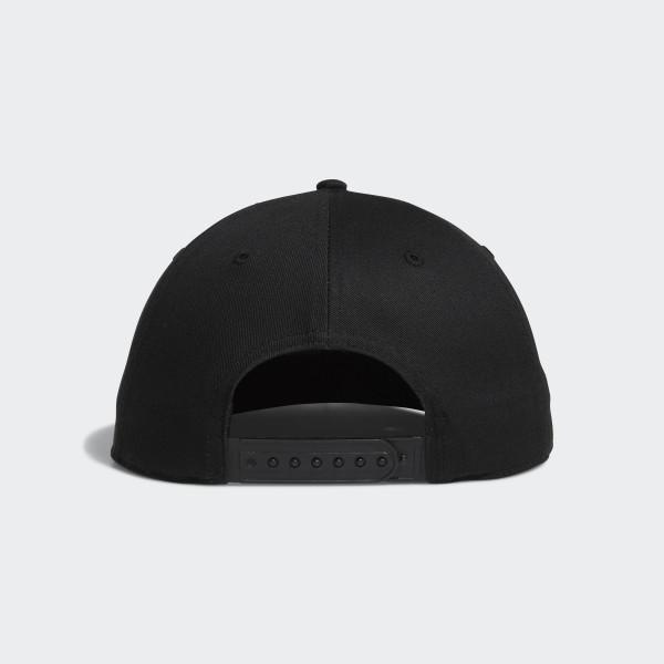 455eae29a62 adidas Adicross Flat-Brim Cap - Black