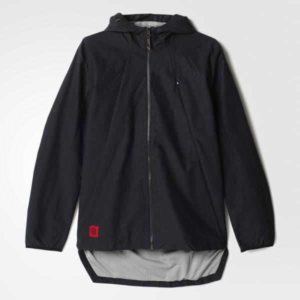 adidas Men s D Rose Statement Jacket - Black  d626ed3eaed8