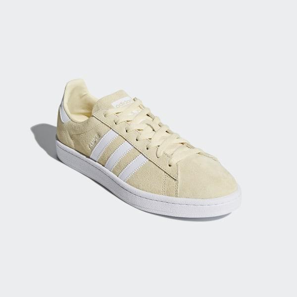 Campus Shoes Mist Sun / Cloud White / Cloud White DB0546