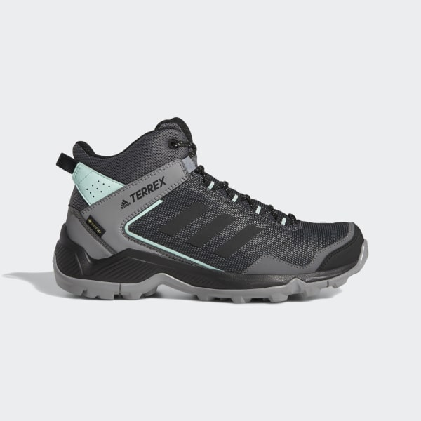 Terrex Eastrail Mid GTX Shoes Grey Four   Core Black   Clear Mint F36762 1a8c072b3