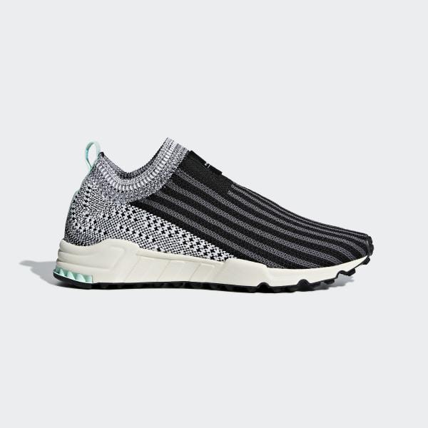 innovative design 8709b 94ab7 EQT Support Sock Primeknit Shoes Core Black  Cloud White  Clear Mint  B37528