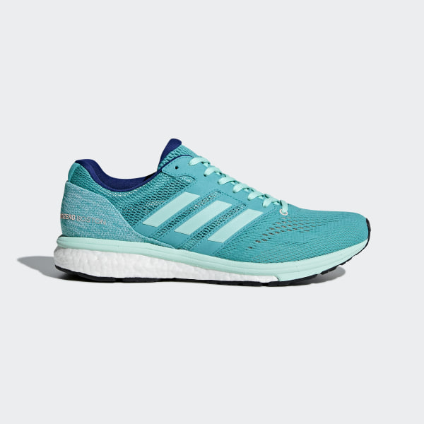 0708c6c1b421 Adizero Boston 7 Shoes Hi-Res Aqua   Clear Mint   Mystery Ink BB6498