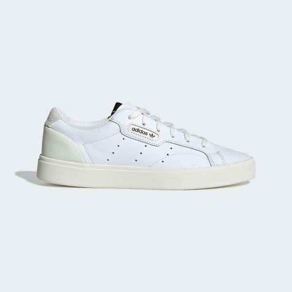65e9a518535 Sapatos adidas Sleek Ftwr White   Off White   Crystal White CG6199