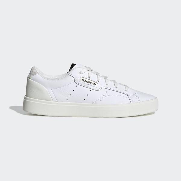 on sale 6c24e 43a37 Sleek Shoes Ftwr White   Off White   Crystal White CG6199