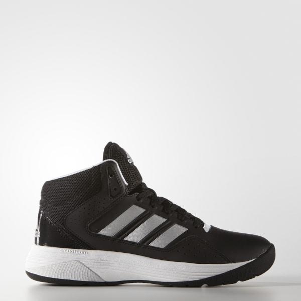 sports shoes 16677 52aa0 Zapatillas Cloudfoam Ilation Mid CORE BLACK MATTE SILVER FTWR WHITE AQ1362