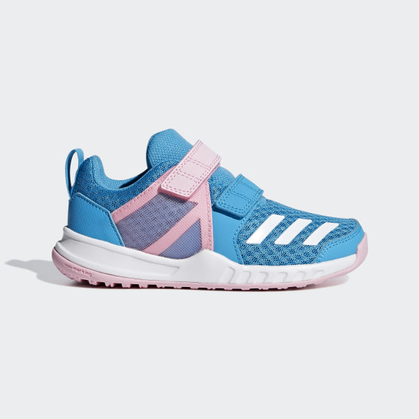 quality design cfdff 4f107 FortaGym Shoes Shock Cyan  Ftwr White  True Pink CM8604