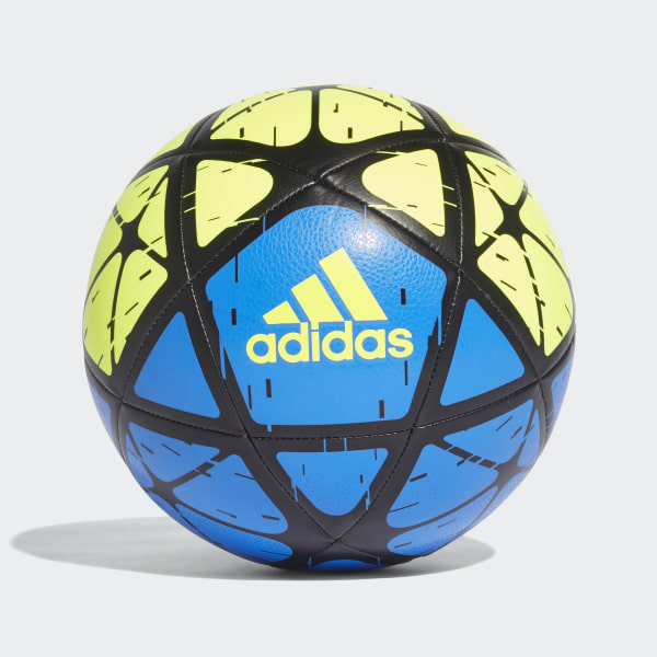 Pelota adidas Glider SOLAR YELLOW FOOTBALL BLUE BLACK CW4170 d9f7677299c52