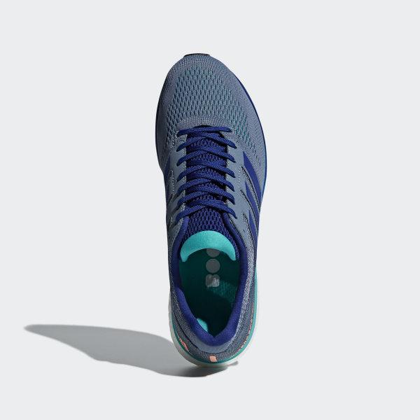 free shipping 844bc 373f6 Adizero Boston 7 Shoes Raw Steel  Mystery Ink  Hi-Res Aqua BB6535