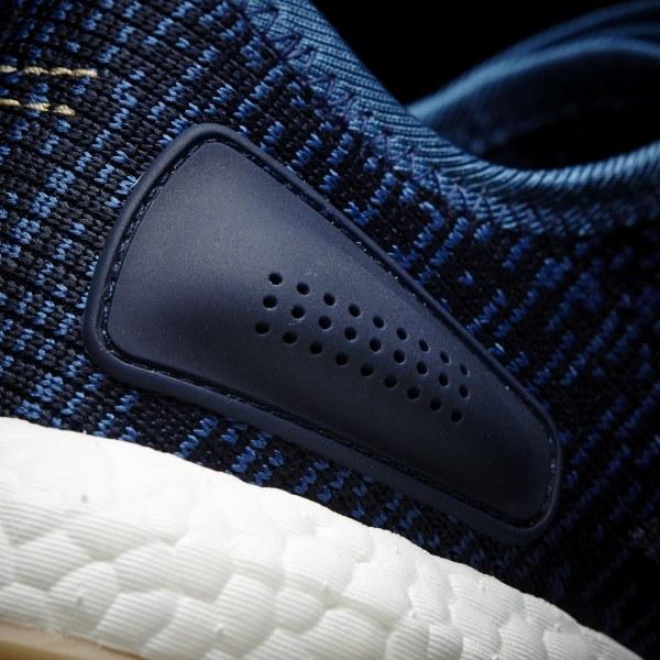 e9630a49699f9 Pure Boost Shoes Core Blue   Linen   Night Navy BA8896